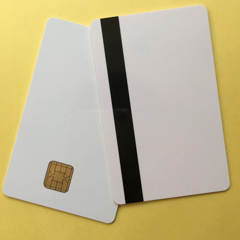 J2A040 Chip JAVA Smart Card With 2track Magnetic Stripe Comp JCOP21 40K