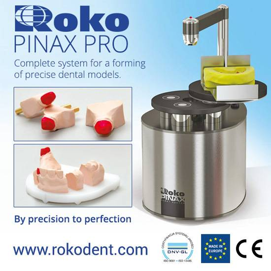 Dental laboratory Laser Pin Drill PINAX PRO  ROKO