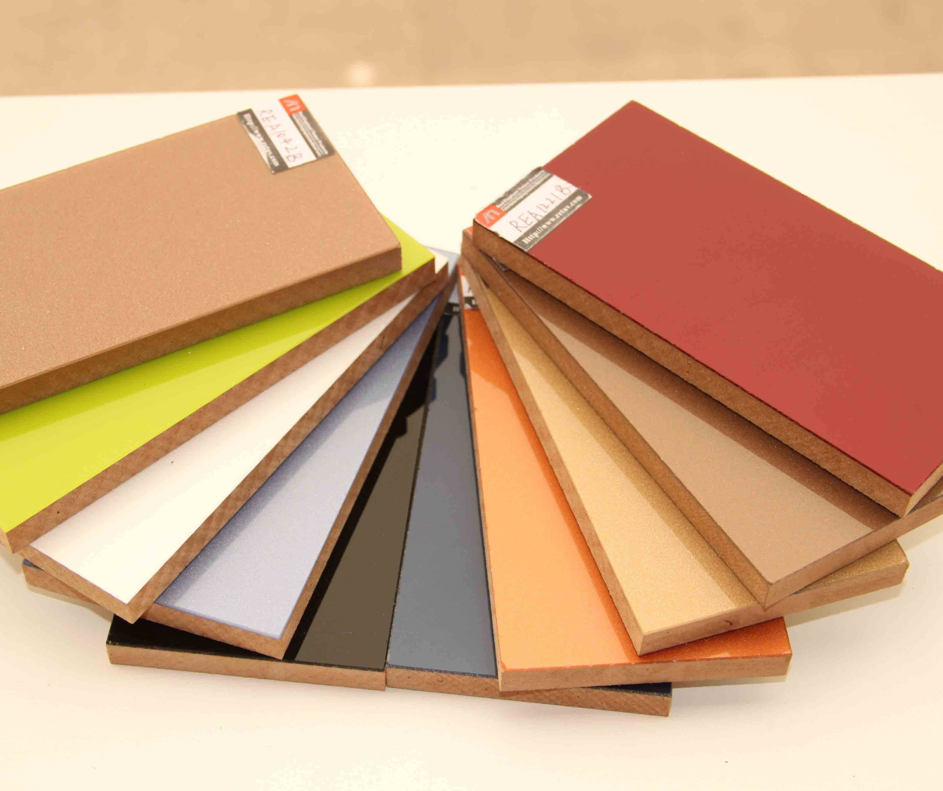 high glossy solid colour acrylic panel for kitchen cabinet