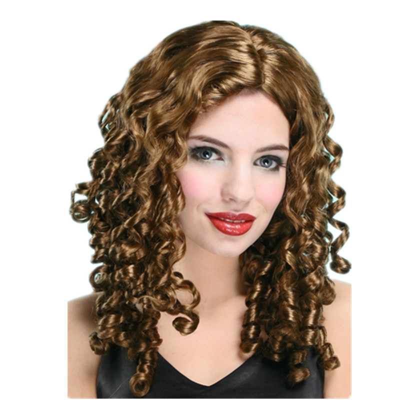 X-MERRY TOY Synthetic Machine Made Cheap Colorful Party Wigs For Women x30001