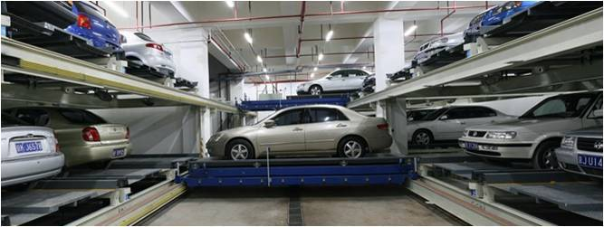 Automatic Car Parking System-Shuttling Parking System