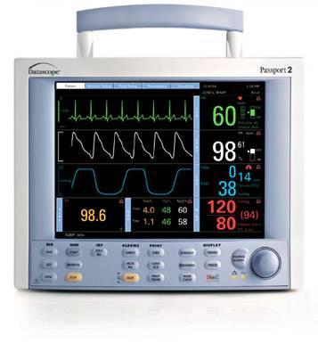 Datascope Passport 2 Patient Monitor w/ Co2