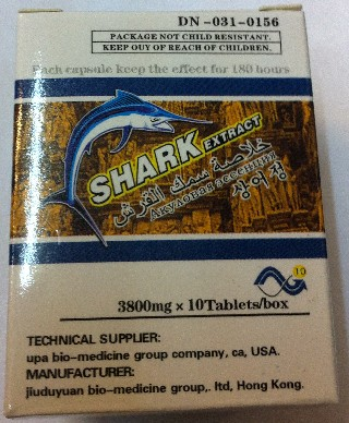 Sex Stimulant Shark Extract