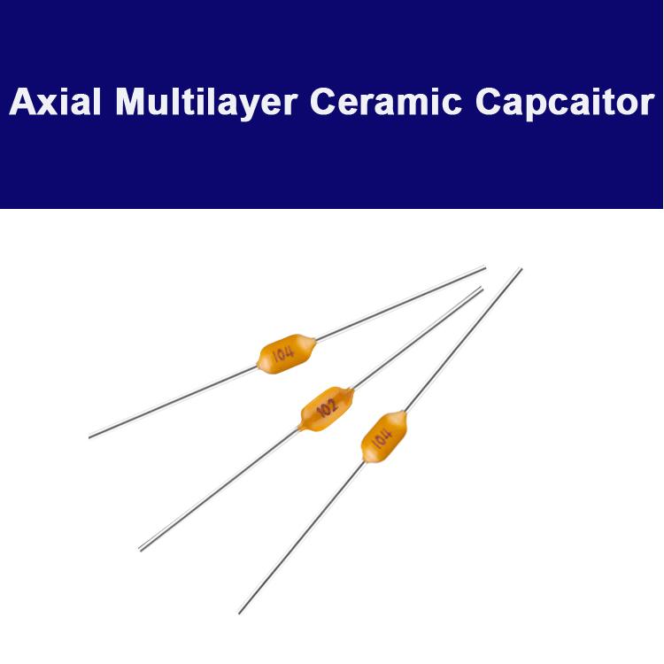 0805 0.1uF 50V X7R Axial multilayer Ceramic Capacitor
