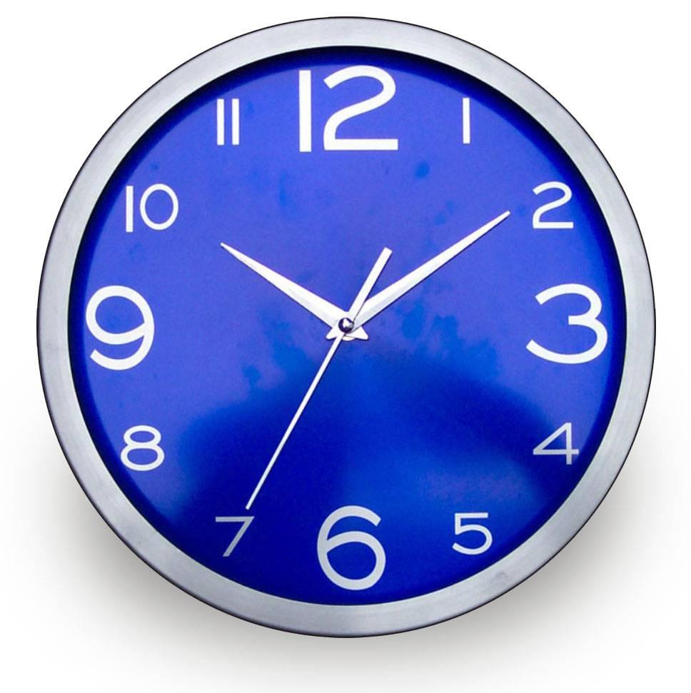 decoration wall clock  metal clock custom printing