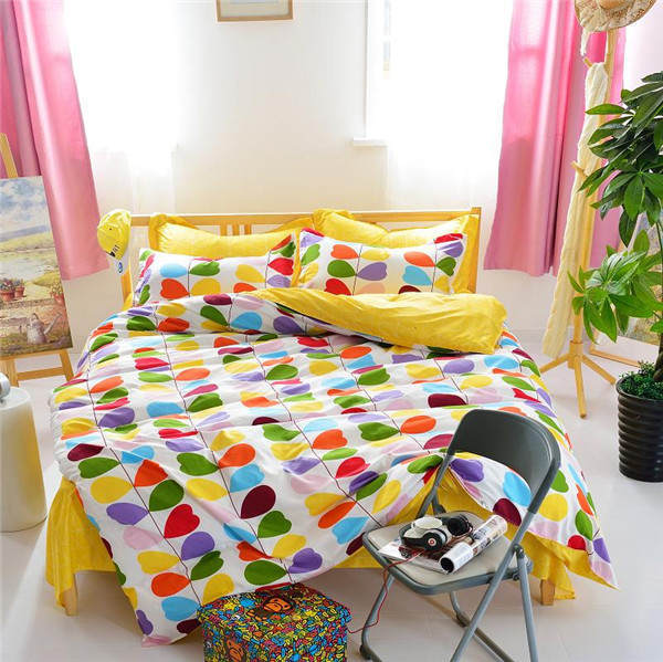 Printed Fabric Duvet Cover