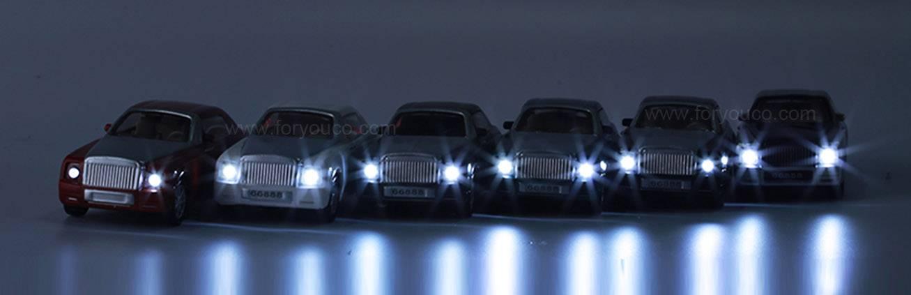 Mini Mold Mould Luxury Brand Mini Car LED light cars