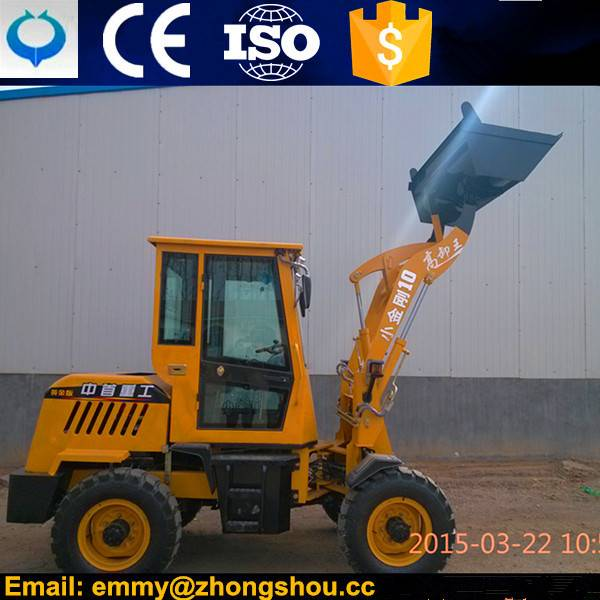 Chinese new brand 1 ton wheel loader 910 with CE