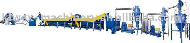 PP,PE plastic recycling and washing line