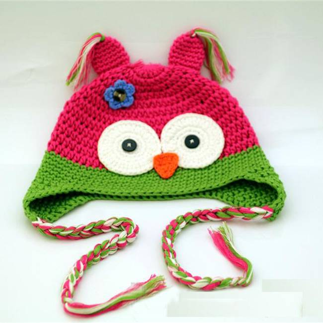 Lovely Kid Hat Animals Warm Hat for Winter