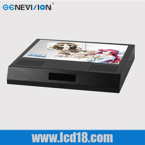18.5 inch advertising Player with wall mounted,auto play in loop
