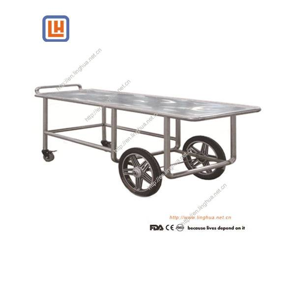 Funeral Equipment Mortuary Trolley for Corpse Transfer in Mortuary Morgue