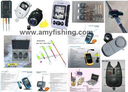fishing alarm, bite alarm, fish finder, carp alarm, fishing tackle, wireless fish finder