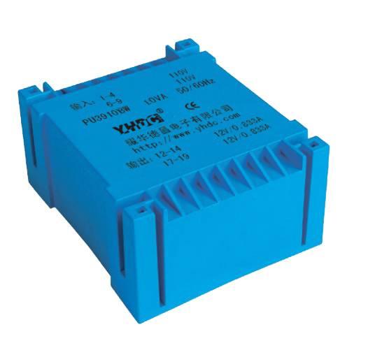 14VA PCB flat type isolation transformer