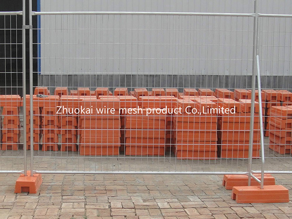 Temporary Wire Panel Fence