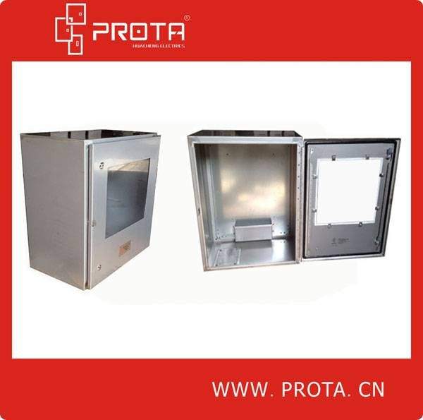 Stainless Steel  Distribution Box With Glass Window