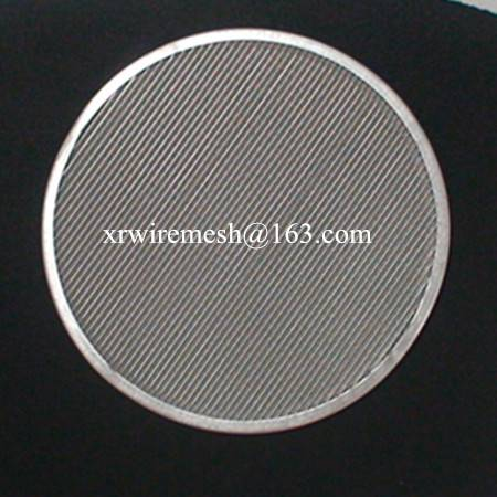 Multilayer Wire mesh disc