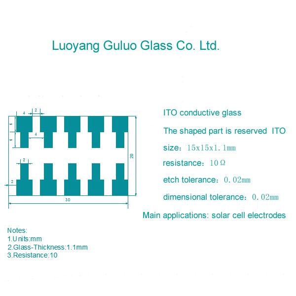 Customization of Patterned ITO Glass, FTO Glass, AZO Glass, and PET-ITO Film
