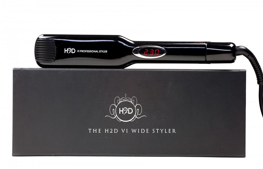 H2D VI Wide Hair Straighteners