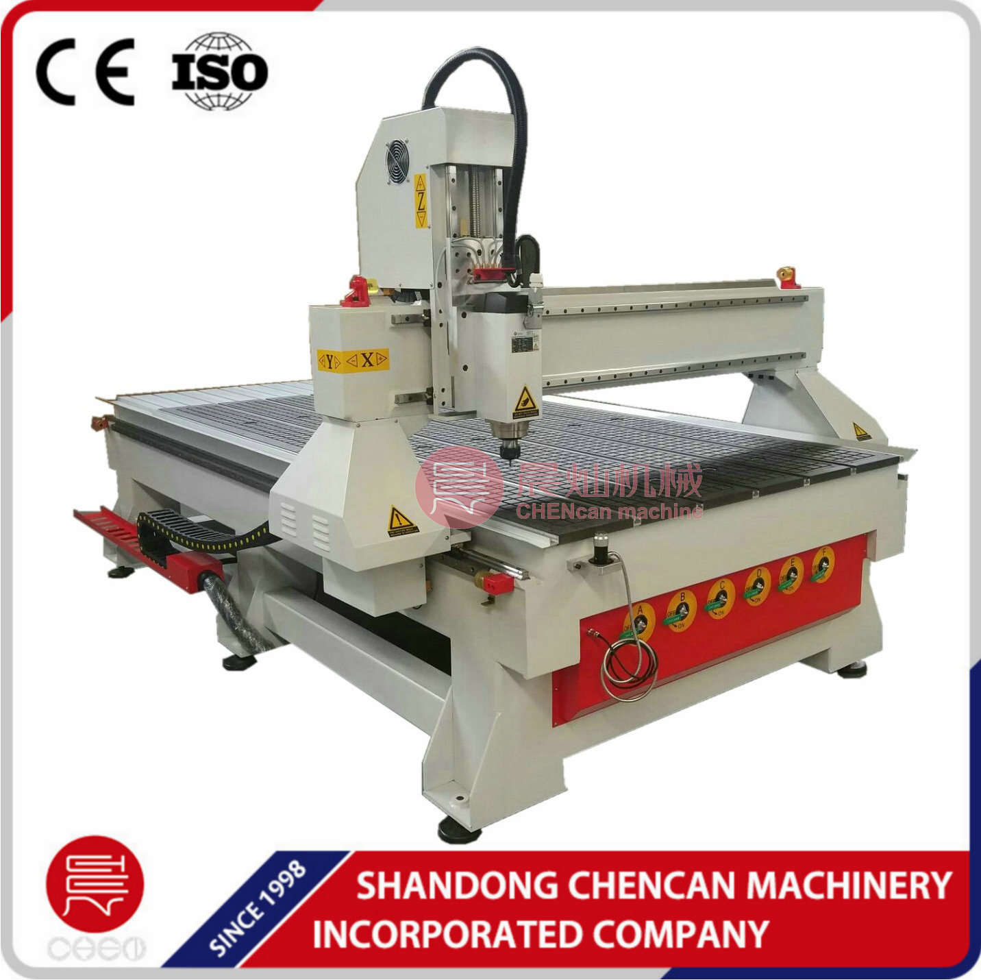 4x8 feet Woodworking CNC Router Wood router machine 1325