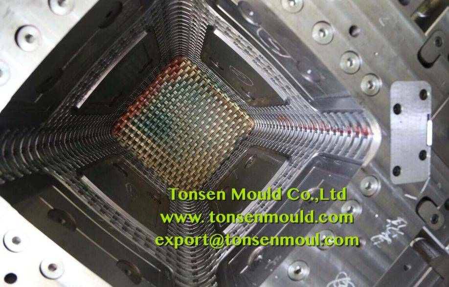 plastic industial material rattan stool mould tooling