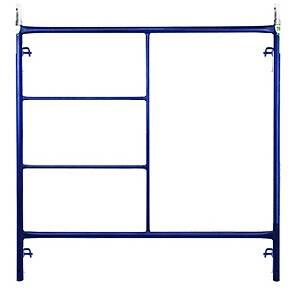 Powder Coated 5' x 6'4'' Pipe Frame Scaffolding System Type of Walk Through Mason Ladder