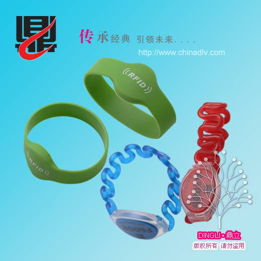 Silicone Bracelet/Silicone wristband/13.56Mhz wristband
