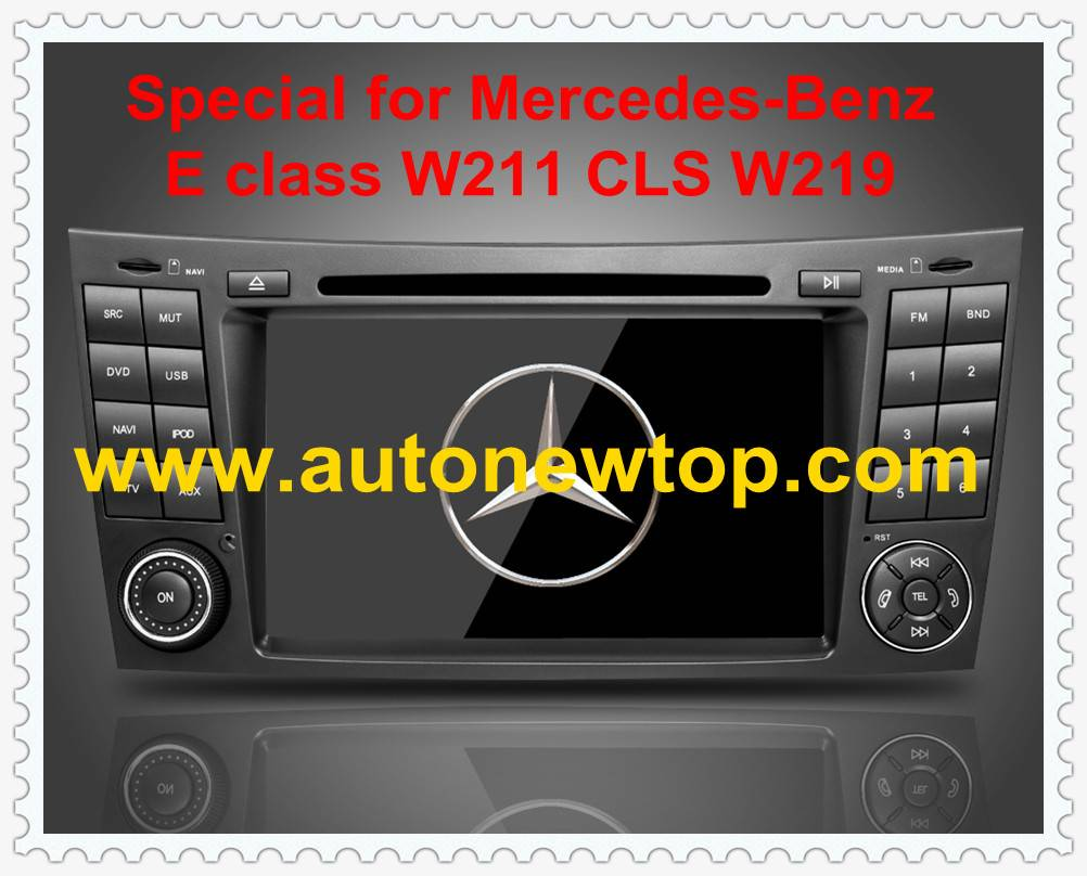 car DVD player Special for Mercedes-Benz with GPS digital TV