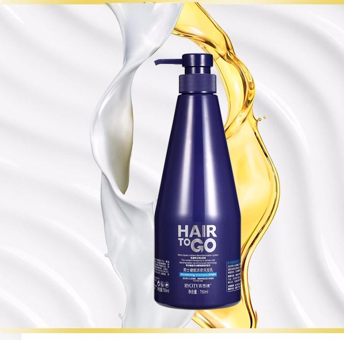 BYCITY new arrival natural and organic man hair shampoo