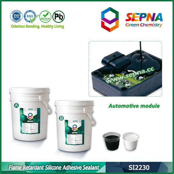 Flame Retardant Electronics Silicone Potting Compound SI2230