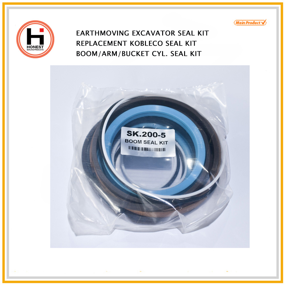 Kobelco equipment seal kits hydraulic seal kits Kobelco excavator seals