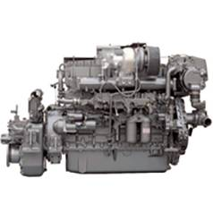 New Yanmar 6HA2M-WDT Marine Diesel Engine 405HP