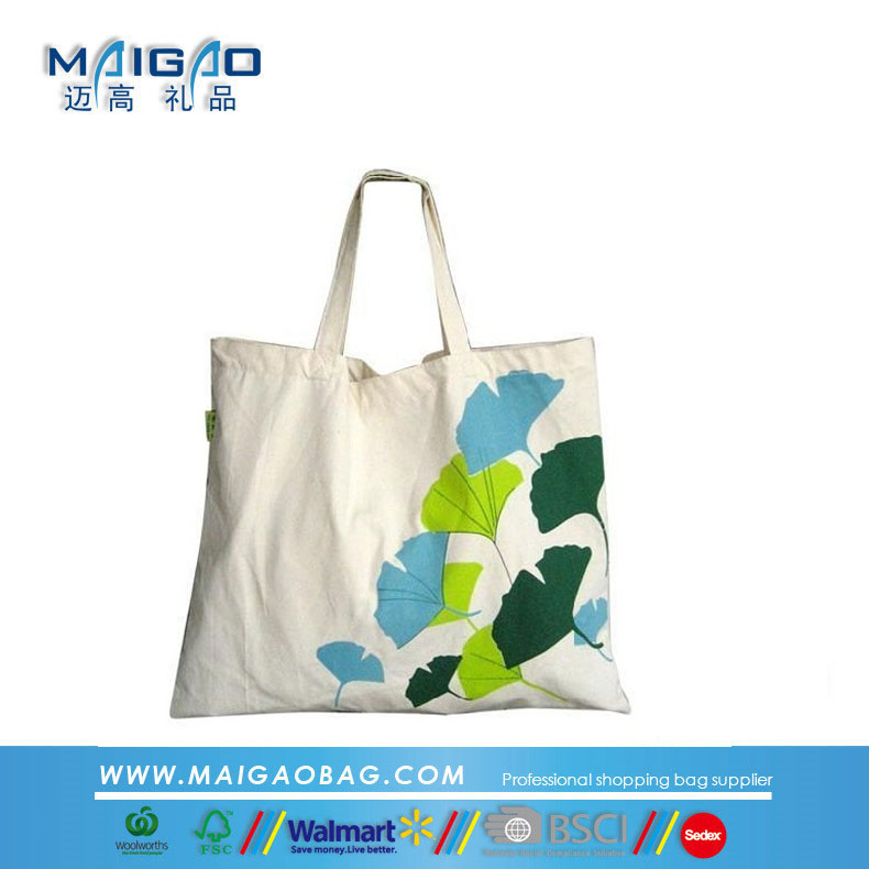 Wholesale organic cotton fabric bag