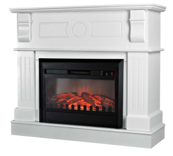 Electric Fireplace heater Insert with Mantel
