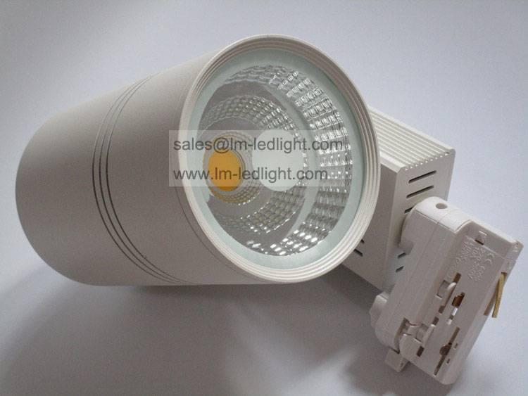 led track light COB 20W 30W led bridgelux modern black light fixture