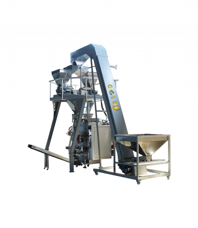 GOLD 500 - 4 SCALE VERTICAL PACKAGING MACHINE