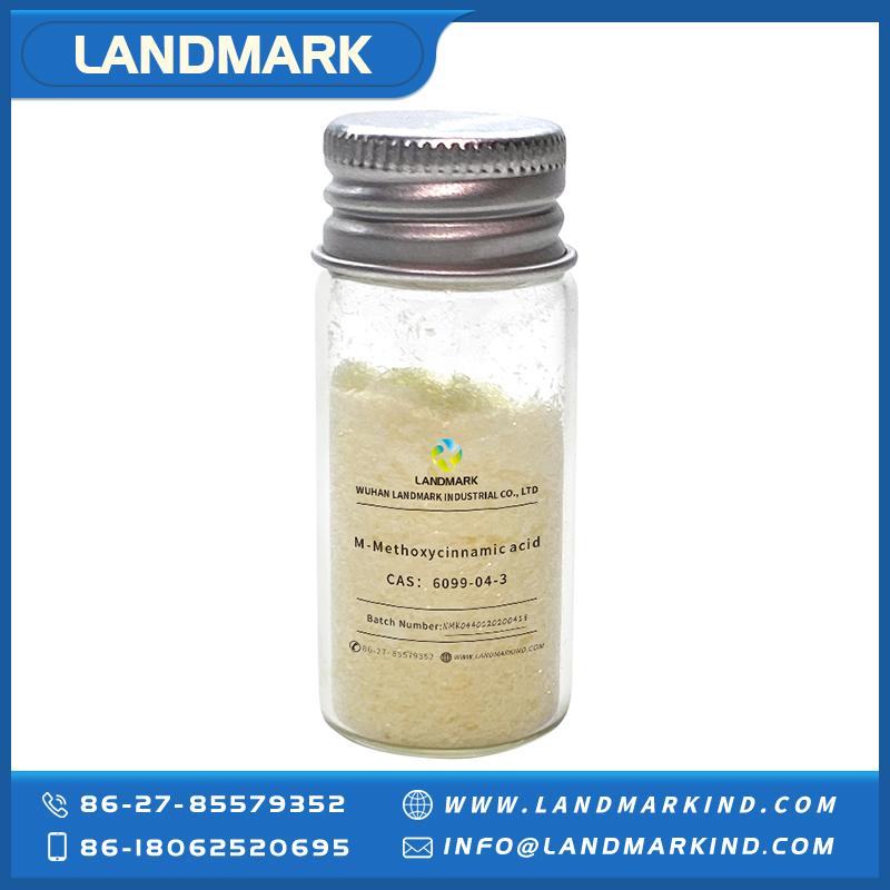 99% Min Purity 2-Methoxycinnamic Acid with Factory Price CAS 6099-03-2 Yellow Crystal China Manufact