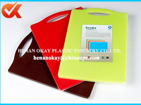 kitchen appliance easy cleanling plastic chopping board