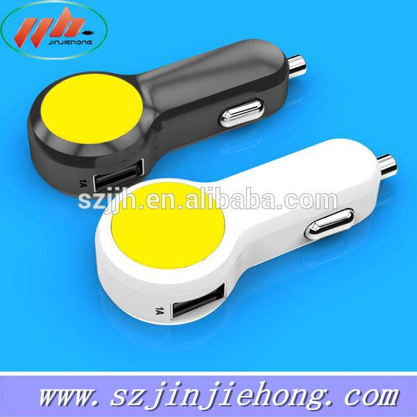 mini 2016 factoy price Single usb port oem car charger for mobile phone 3.1A