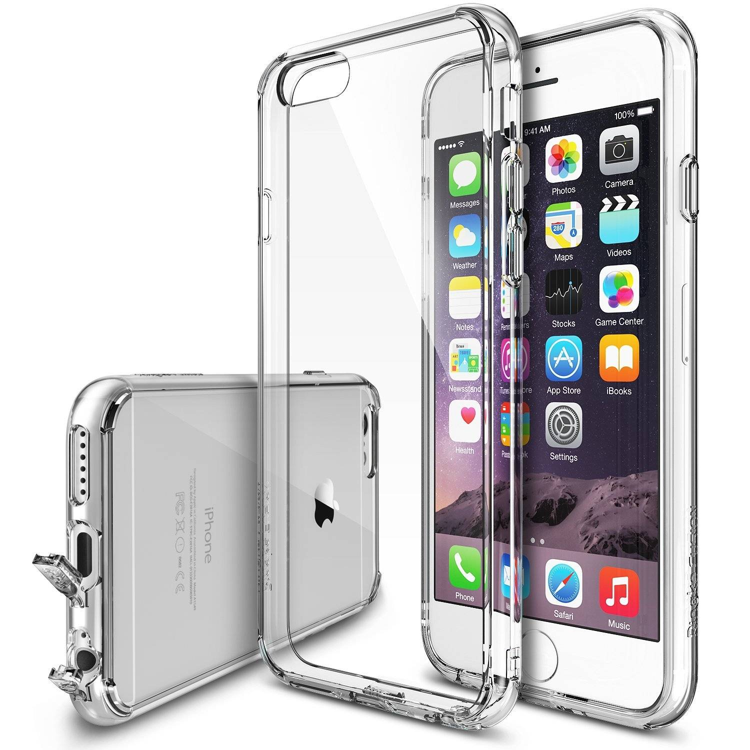 Ringke Fusion iPhone 6/6+ case PC bumper Clear Back Case