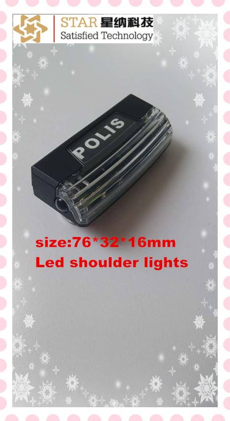 police strobe led shoulder light