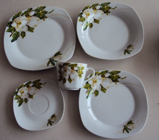 30pcs dinner set with beautiful decal