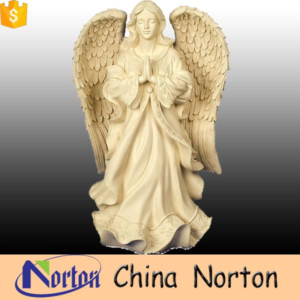 Large white angel resin statues for sale NTRS-003Y