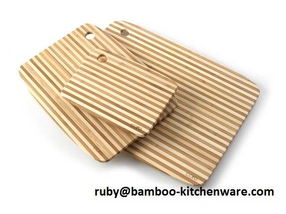 Biodegradable Bamboo Wooden Cutting Board Set,Chopping Boards Knife Set,Environmental Protection Kit