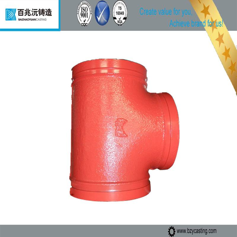 galvanized ductile cast Iron Pipe Fittings