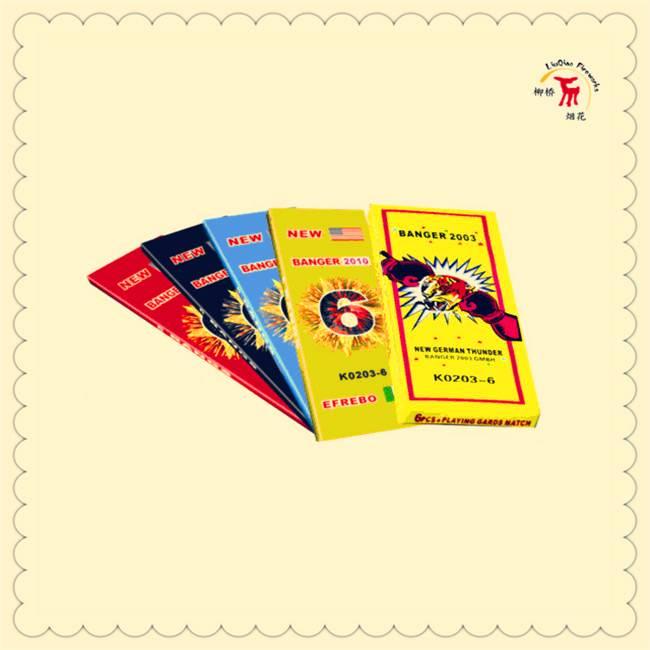 3# Match Cracker( 6 Bangs)| K0203-6