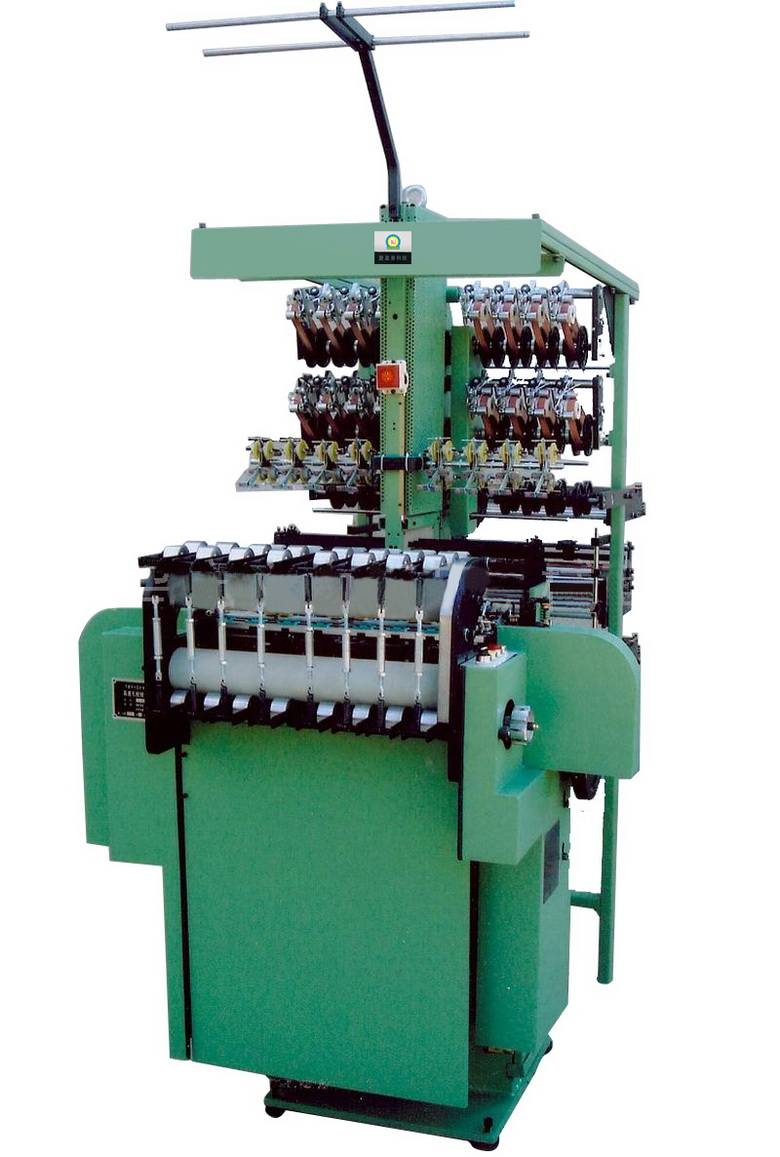 Flannel belt webbing machine