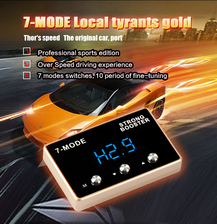 Strong booster car throttle controller sprint booster power converter auto tune modified parts