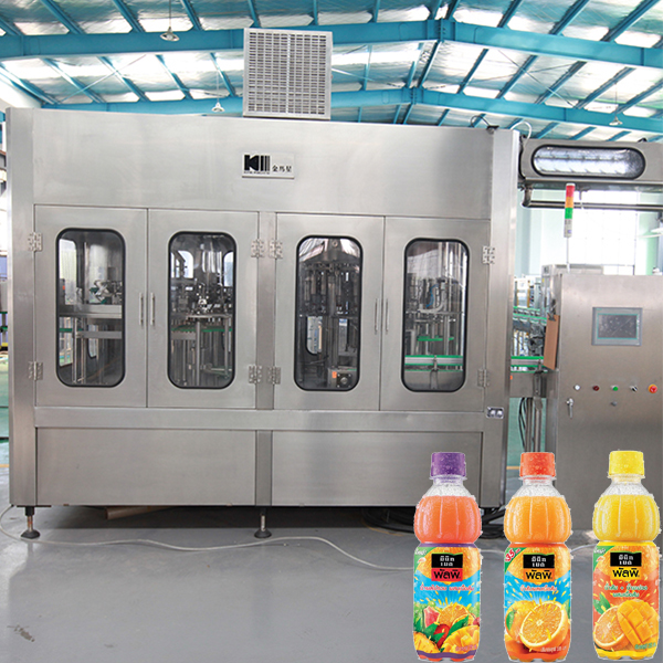 juice/tea drinking beverage rinsing/ hot filling/capping machine / line