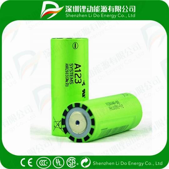 A123 26650 3.3V 2500mAh Cell